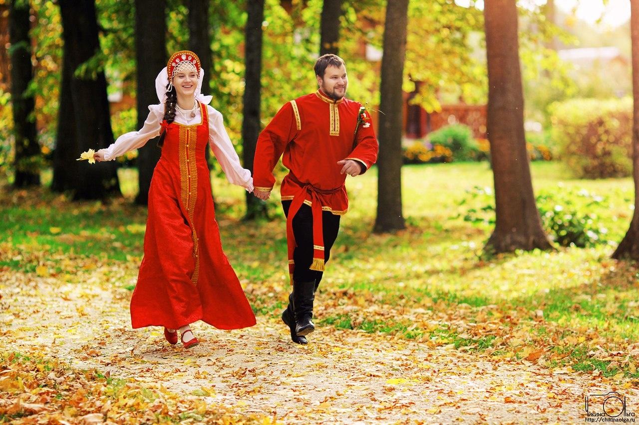 Русские народные свадьбы фото