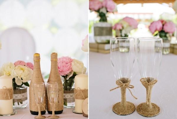 Оформление свадьбы в стиле рустик своими руками фото 14
