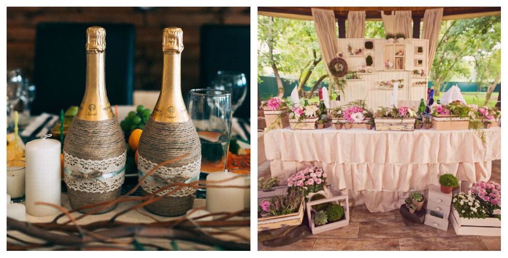 Оформление свадьбы в стиле рустик своими руками фото 89