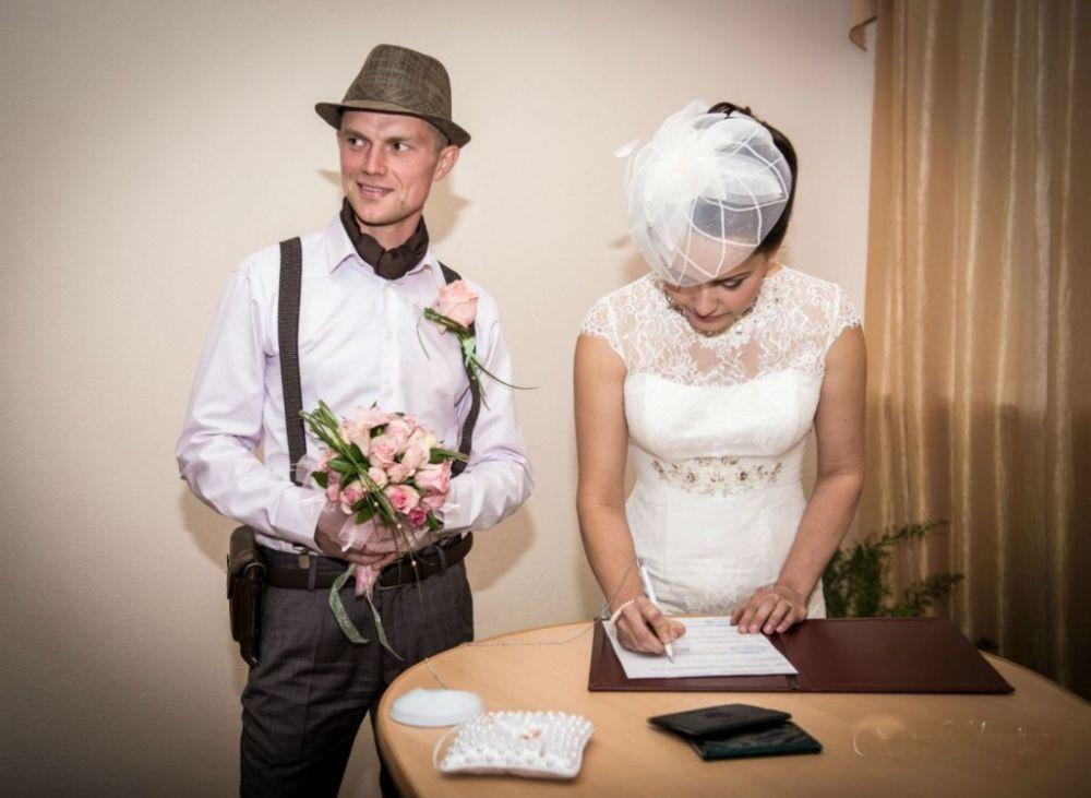 Стильная свадьба где