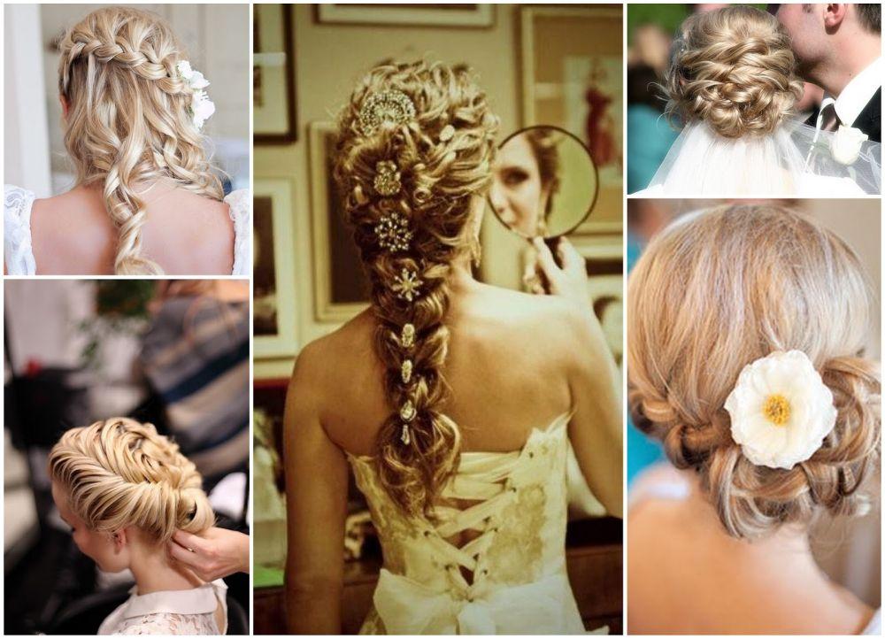 Прически косы на длинные волосы на свадьбу