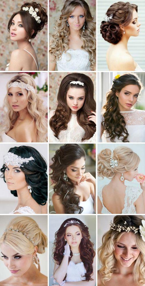 Прическа на длинные волосы гость на свадьбе