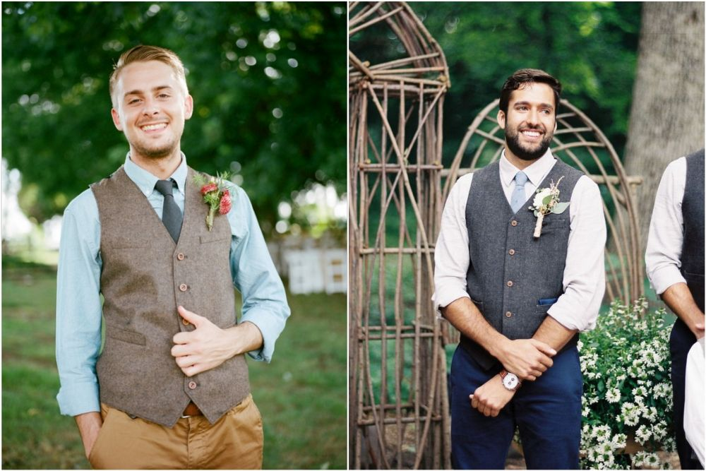 Жених на свадьбе в рубашке с коротким рукавом фото