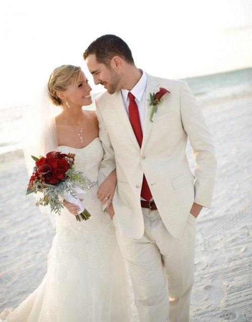 Жених и невеста в одном стиле фото