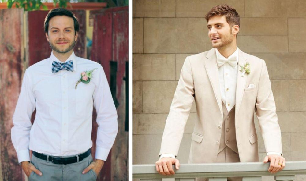 Наряд для жениха на свадьбу
