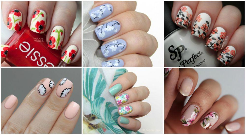 Рисунки на ногтях маникюр картинки