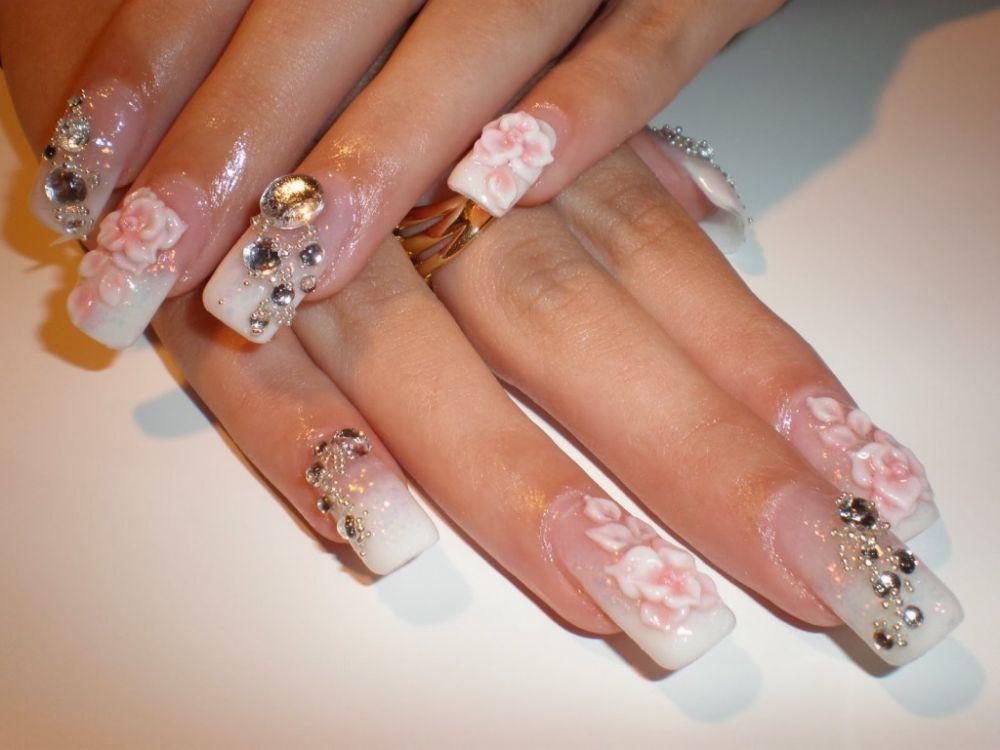 Ногти очень красивые