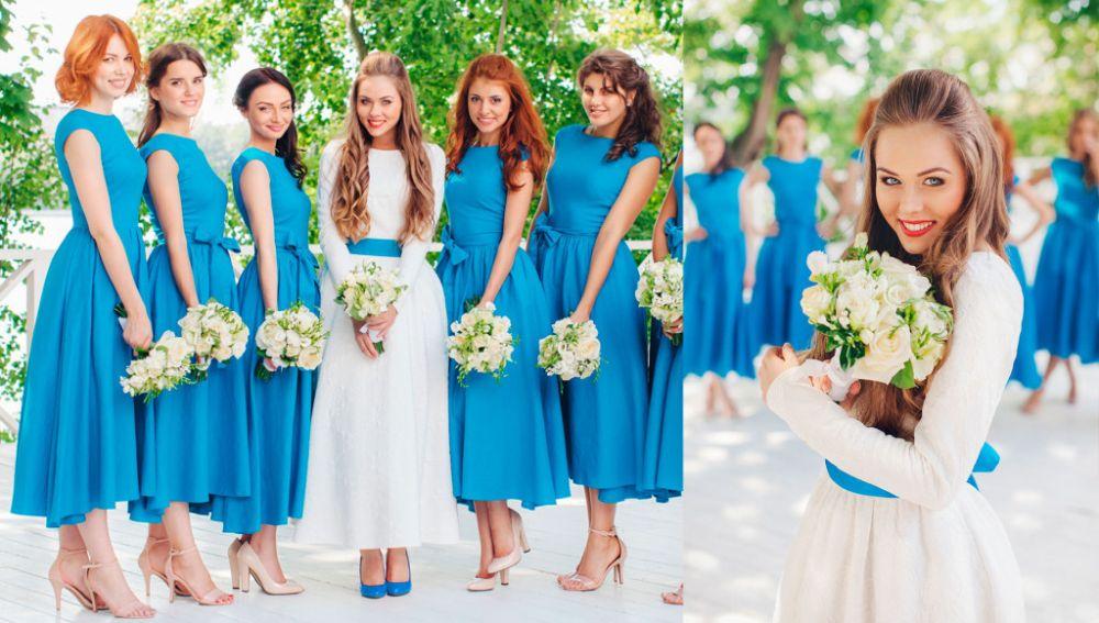 Фото платьев гостей на свадьбу