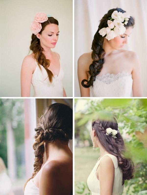 свадебные прически толстая коса