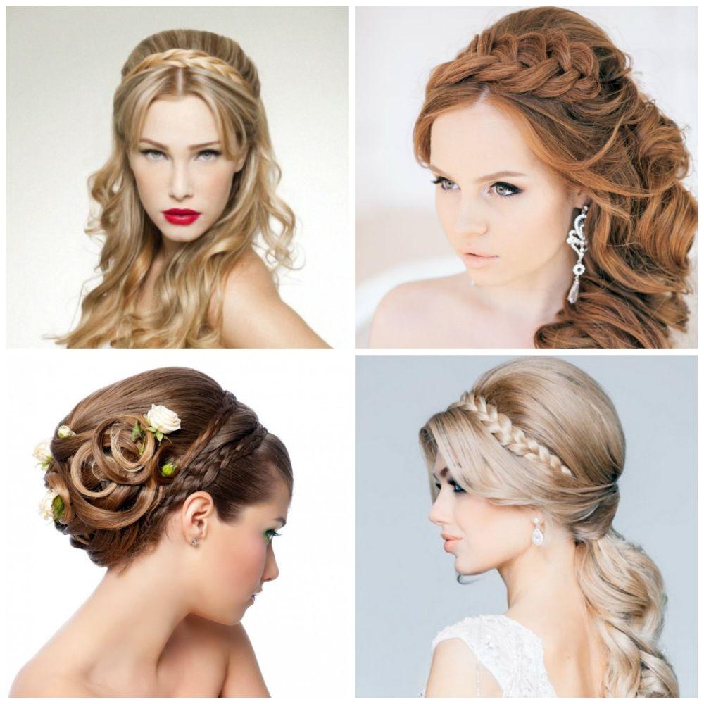 стильные свадебные прически на средние волосы фото 2015
