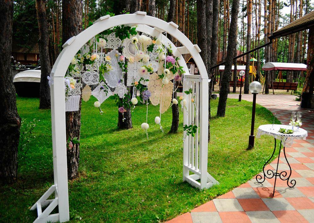 Свадебная арка для выездной регистрации фото своими руками