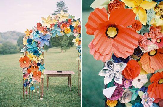 Красивые цветы для оформления своими руками