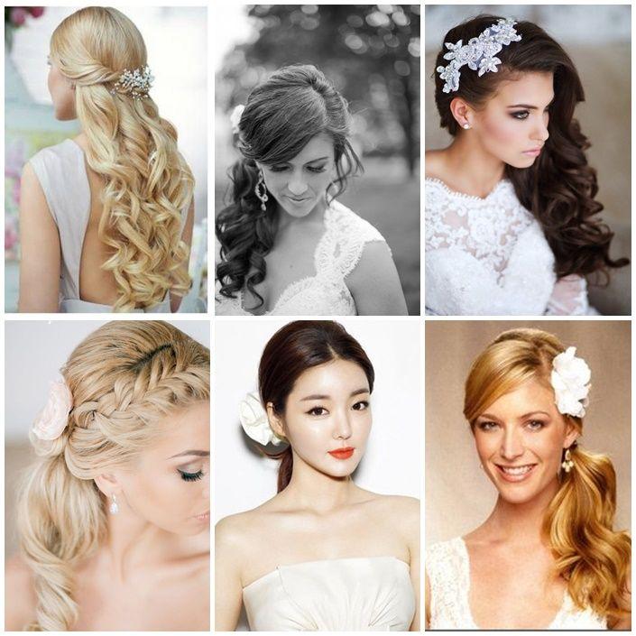 самые модные свадебные прически для длинных волос
