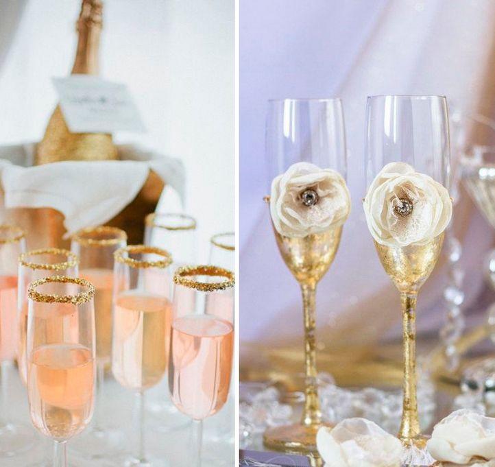 Что делать, если один из свадебных бокалов разбился?