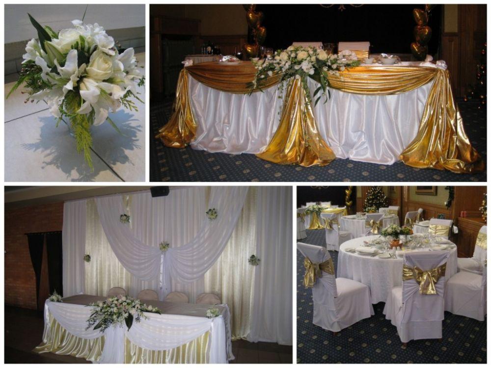 Оформление свадебного зала своими руками 53